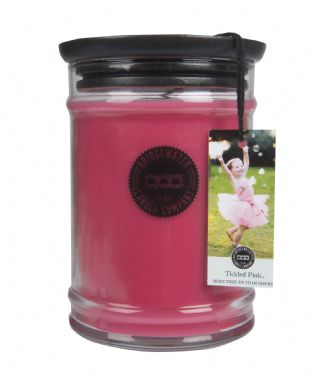 Tickled Pink Large Jar Candle